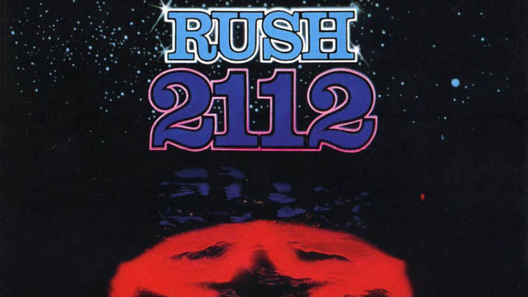 rush 2112 cover The 20 Best Sci Fi Albums: From Misfits to Radiohead