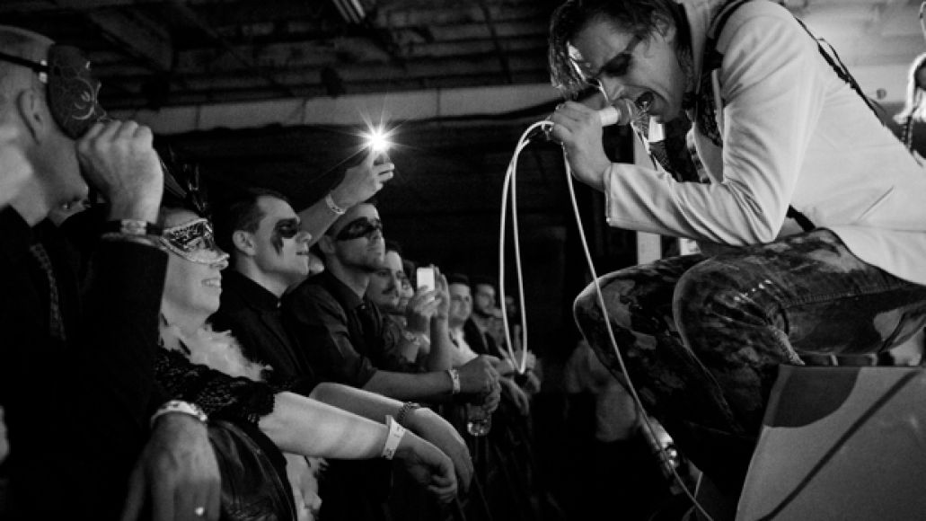 Arcade Fire performs Oct. 18, 2013 in New York City, NY at 299 Meserole.