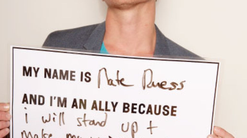 im an ally nate Carry On: LGBTQ supporters find an ally in fun.