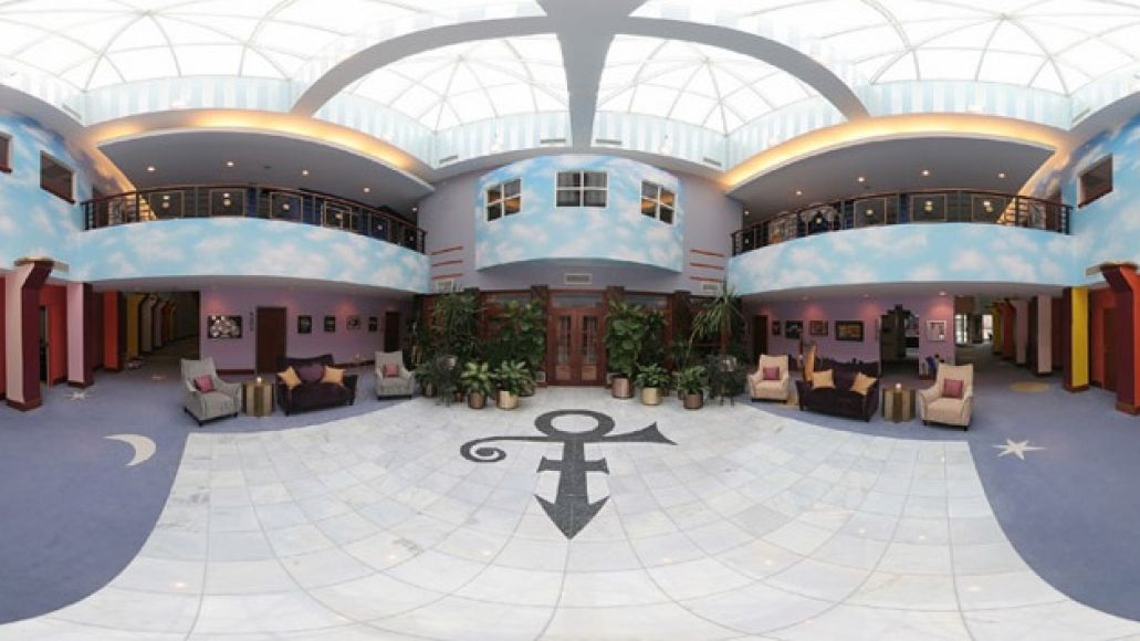paisley park Prince is playing a concert at his house, and youre allowed to come