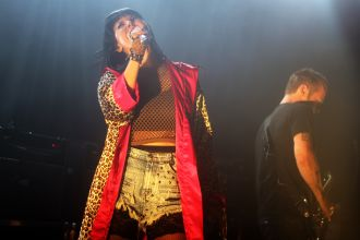 sleighbells5 Live Review: Sleigh Bells at NYCs (Le) Poisson Rouge (10/5)