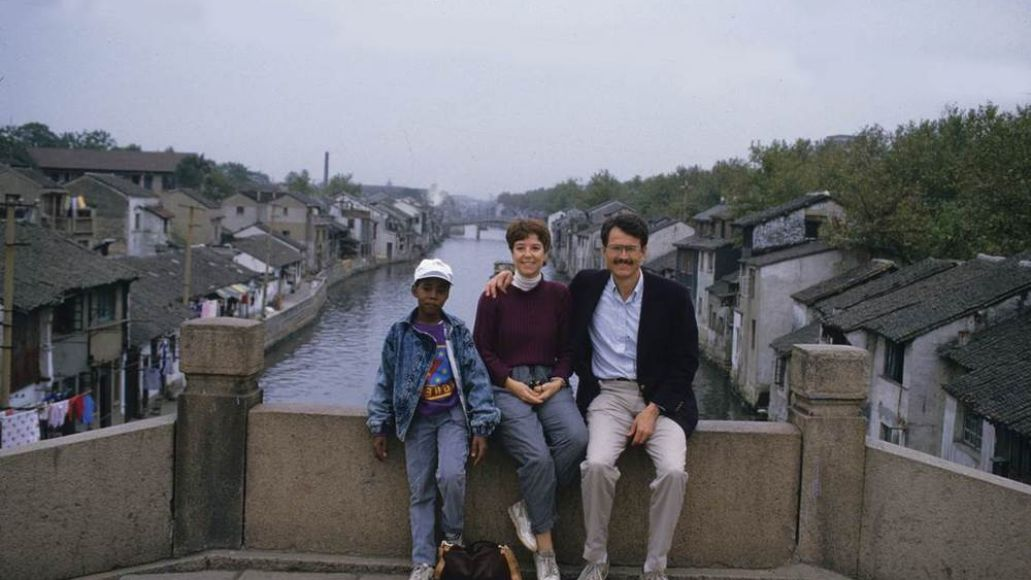 kanyechina Just a photo of a 10 year old Kanye West in China