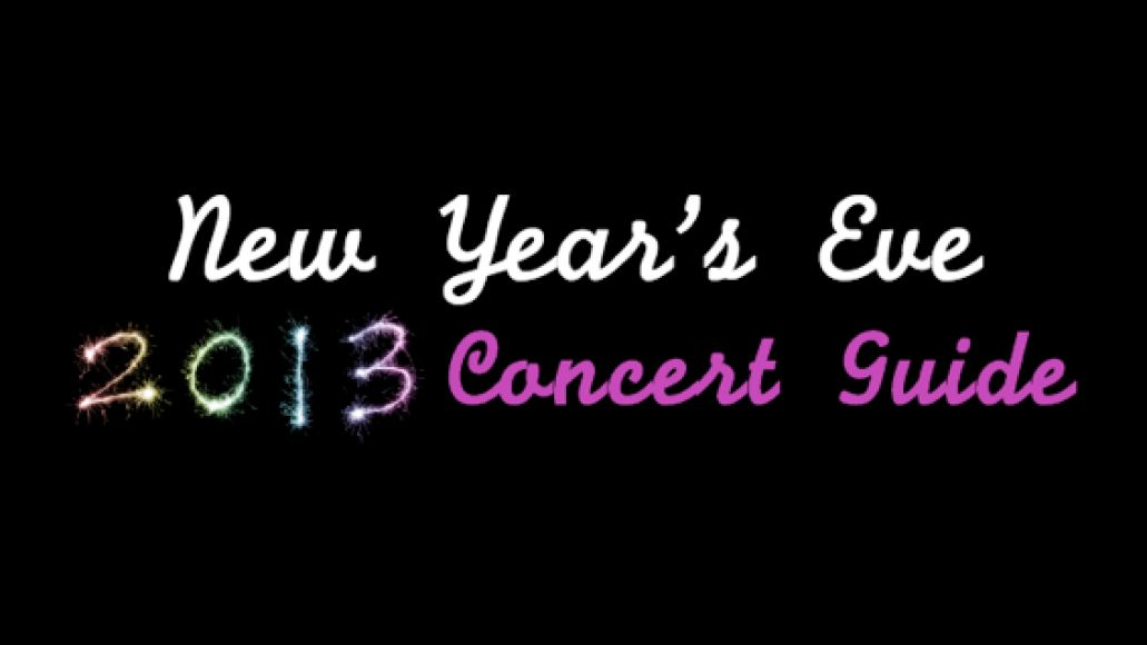 2013concertguide New Year's Eve 2013 Concert Guide