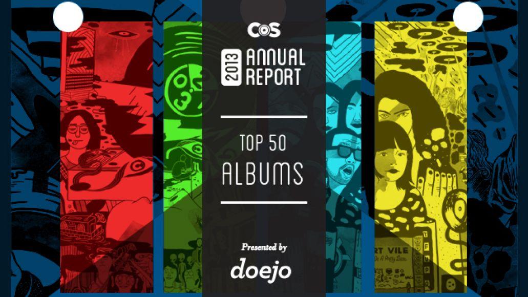 albums Top 50 Albums of 2013
