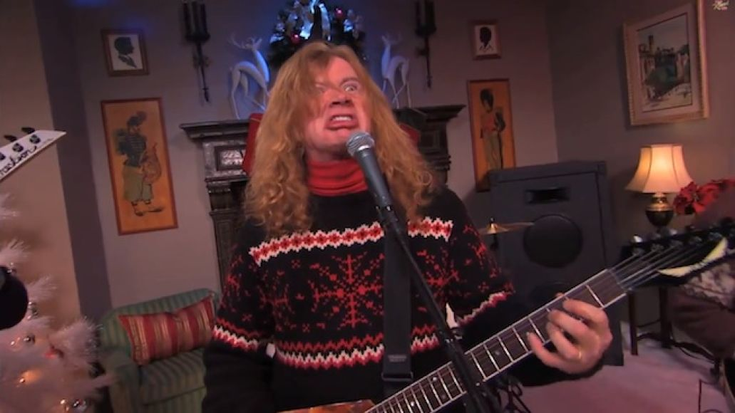 megadethkimmel Its a metal miracle: Megadeth and Jenny Lewis team up for Baby, Its Cold Outside