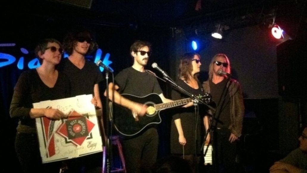 pizzaunderground pic2 Macaulay Culkin forms pizza themed Velvet Underground cover band called The Pizza Underground