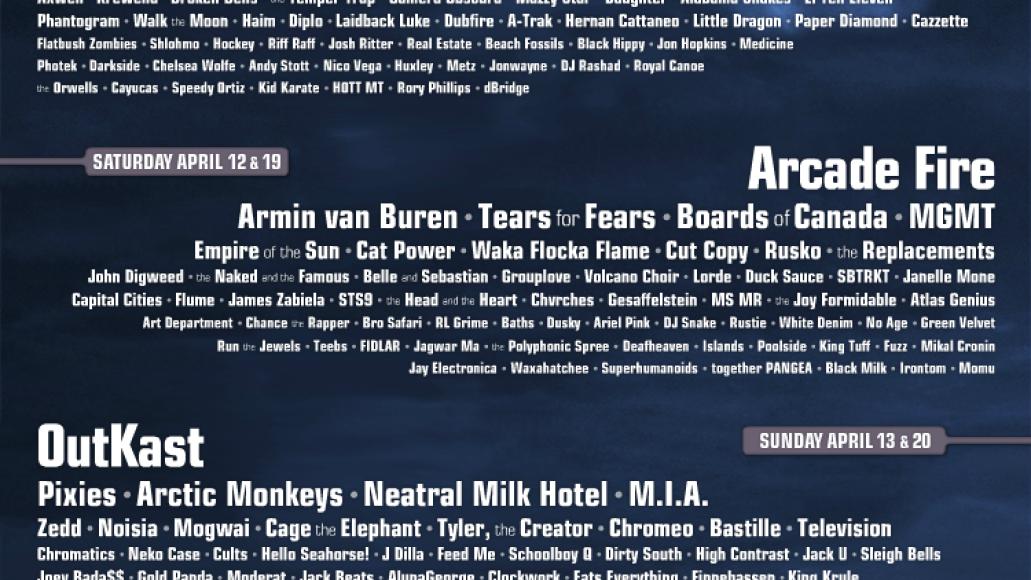 fakecoachellaposter Festival Outlook: Coachella 2014
