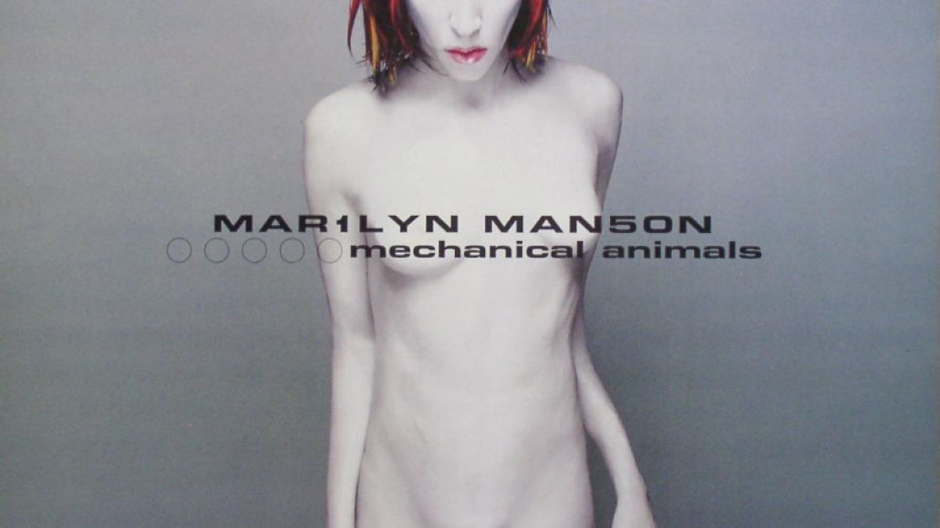 marilyn manson   mechanical animals The 50 Most Outrageous Album Covers