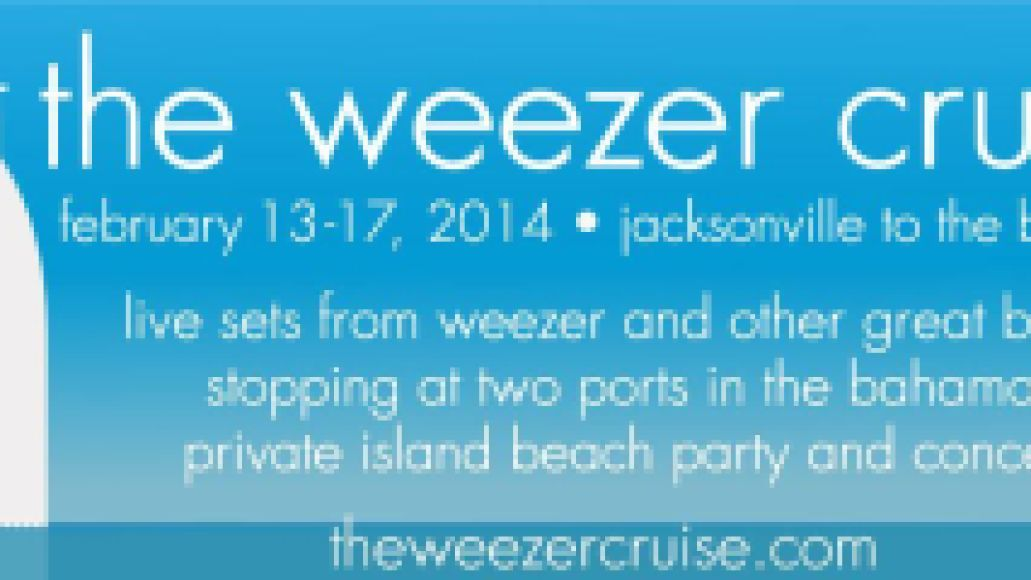 the weezer cruise1 the weezer cruise