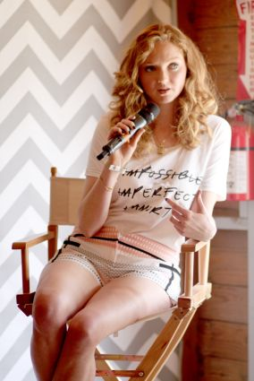 Lily Cole // Women in Pop Culture // Photo by Heather Kaplan