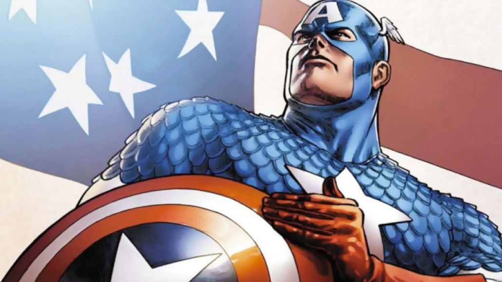 captain america1 From Ink to Sound: How Comic Books Influenced Music