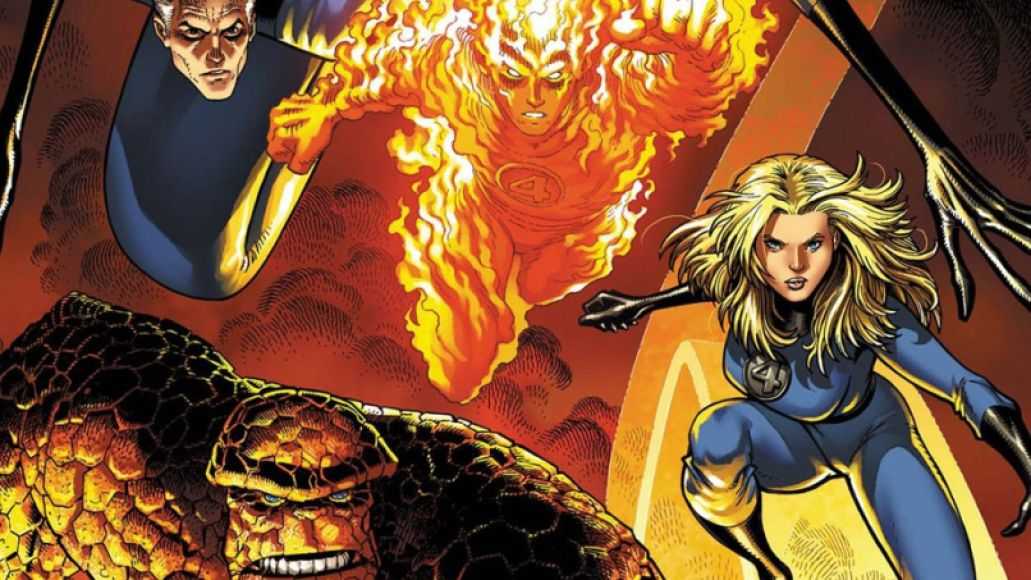 fantastic four e1396464856434 From Ink to Sound: How Comic Books Influenced Music