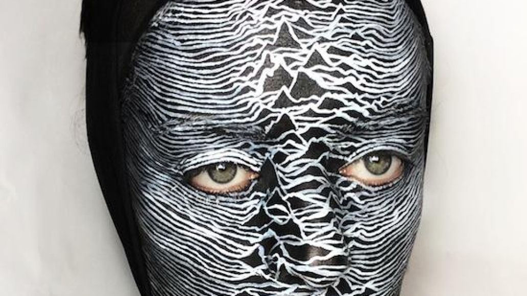 joydivision A Collection of Classic Album Covers: As Painted on a Womans Face