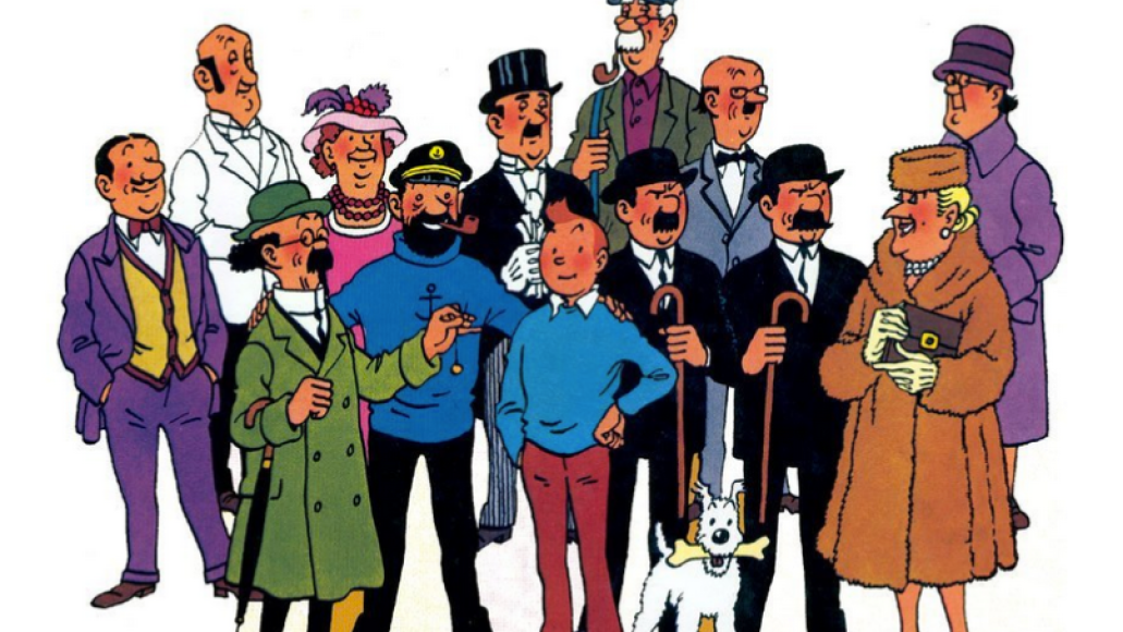 tintin From Ink to Sound: How Comic Books Influenced Music