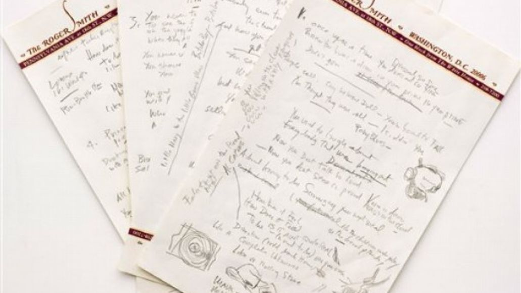 "bob dylan rolling stone lyrics Bob Dylan's original ""Like A Rolling Stone"" lyrics are going up for auction"