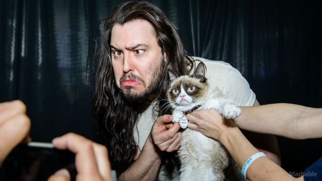 grumpy cat andrew wk Andrew W.K.s 7 Birthday Party Must Haves