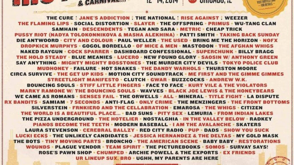 Updated Riot Fest