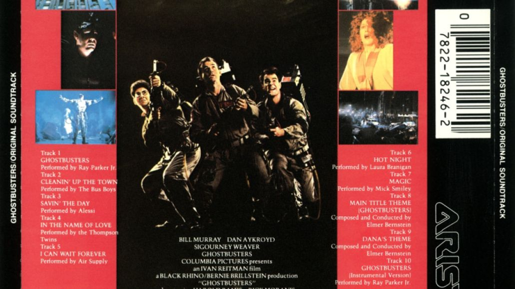 gb back Dusting Em Off: Ghostbusters   Original Soundtrack Album