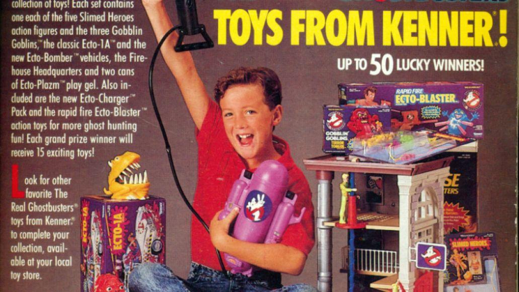 gbtoys Dusting Em Off: Ghostbusters   Original Soundtrack Album