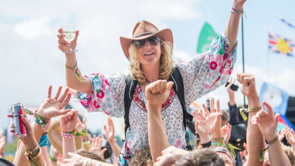 Glastonbury Festival 2014. Photo by Adam Gasson / adamgasson.com