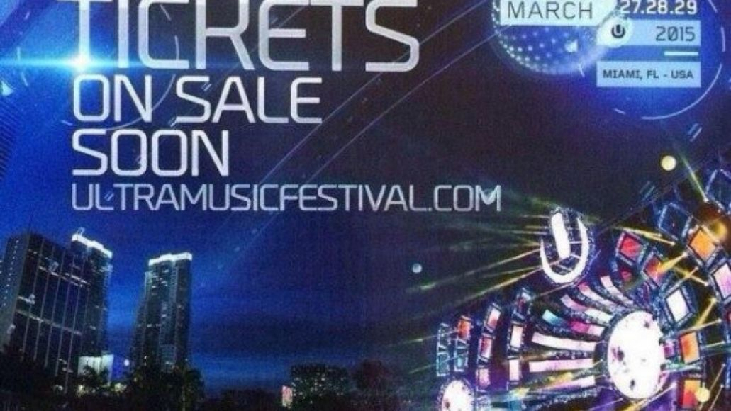 flyerultra015 Ultra Music Festival implements age limit, anti drug policy for 2015 festival
