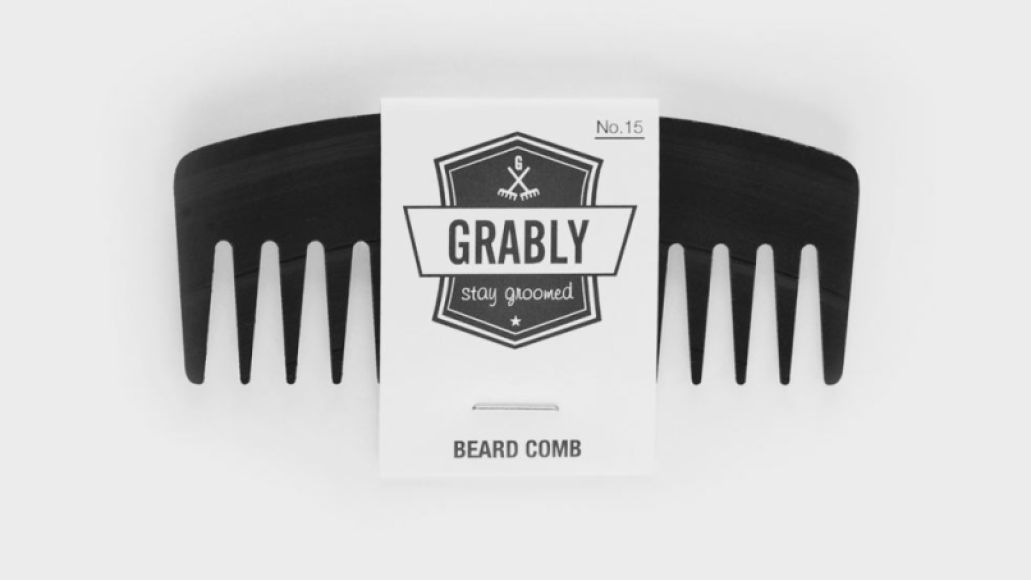grably003 Go full hipster and buy a beard comb made of vinyl records