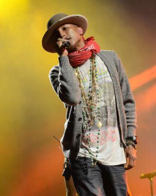 Pharrell // Photo by Cathy Poulton