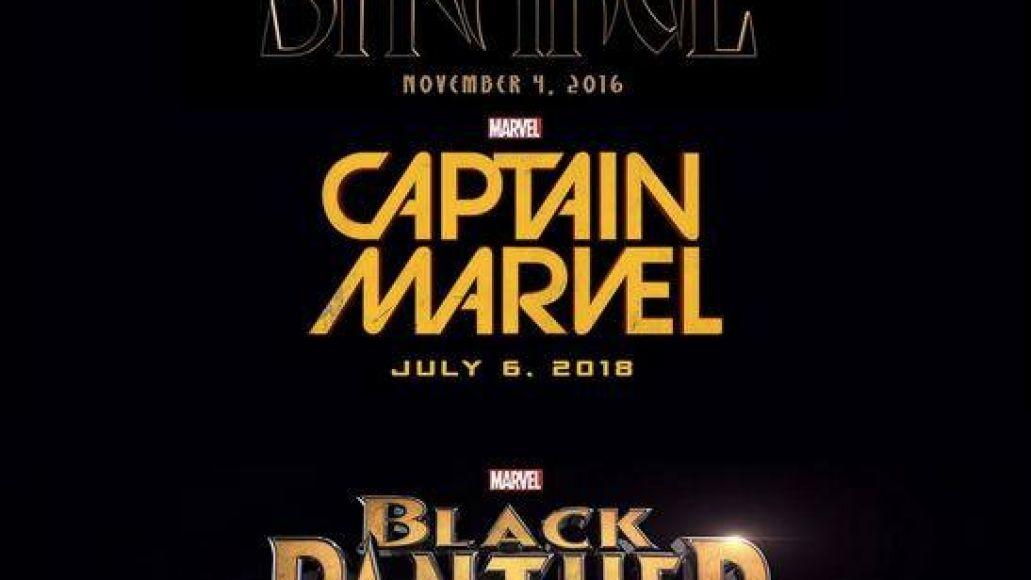 marvel lineup