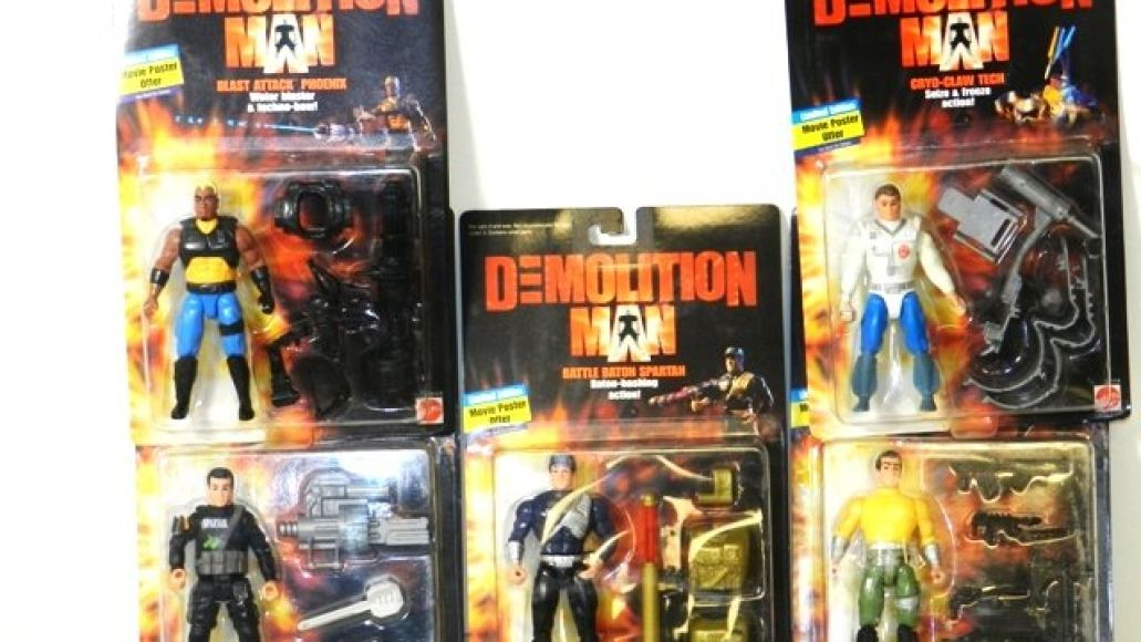 demolition man The 5 Worst and Best Movie Action Figures