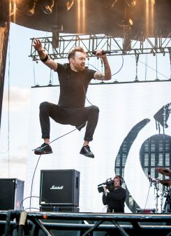 Rise Against // Photo by David Brendan Hall