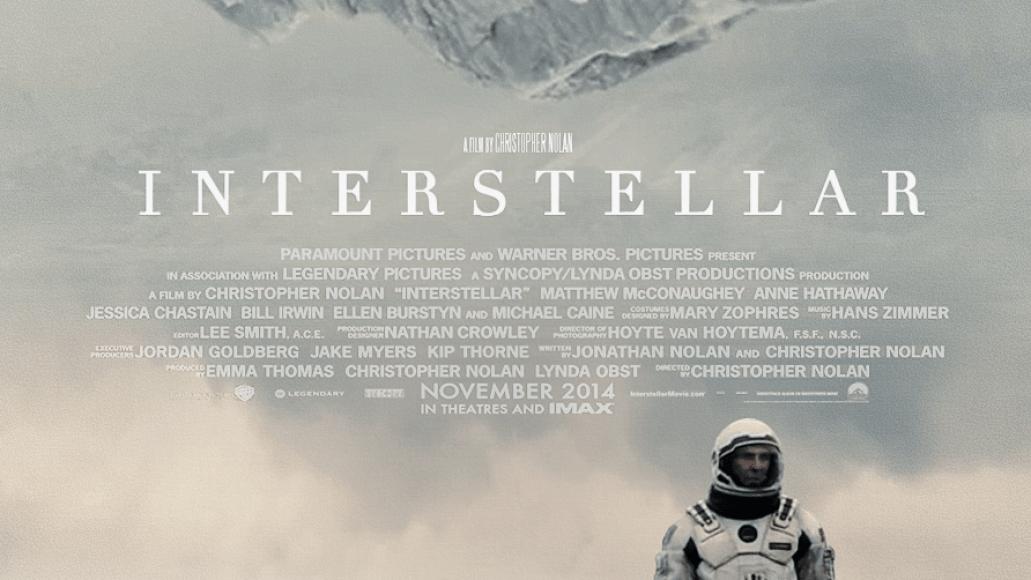 interstellar Top 25 Films of 2014