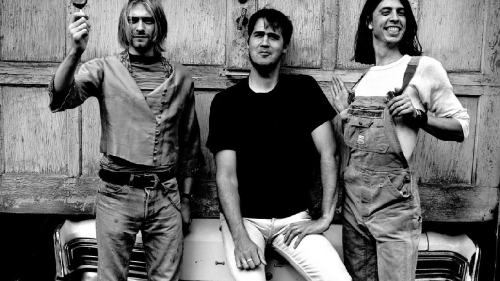 nirvana FACES: Dave Grohl
