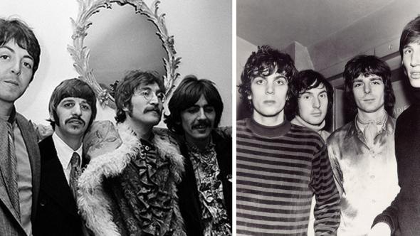 Pink Floyd Beatles