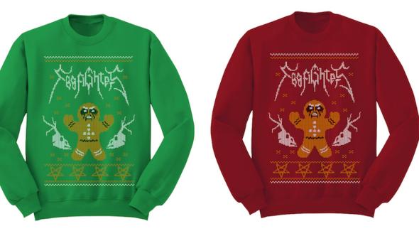 Foo Fighters sweaters