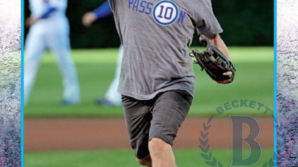 eddieveddercard Jack White and Eddie Vedder featured on Topps baseball cards