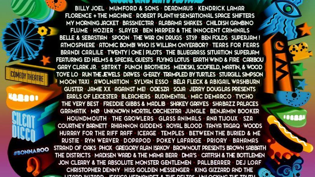 poster1 Bonnaroo announces 2015 lineup