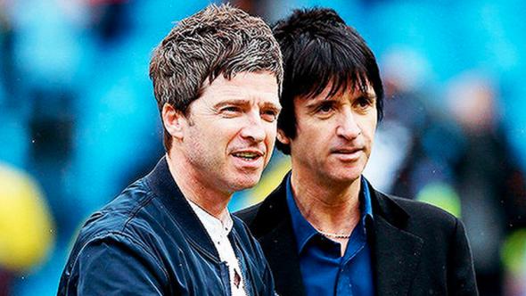 Noel Gallagher Johnny Marr