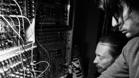 Radiohead in studio
