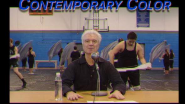 David Byrne Contemporary Color