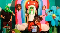 the flaming lips credit george salisbury The Flaming Lips Share Dreamy Ode to the Dinosaurs on the Mountain: Stream