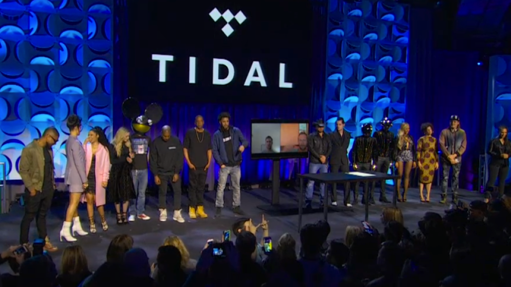 TIDAL roll out