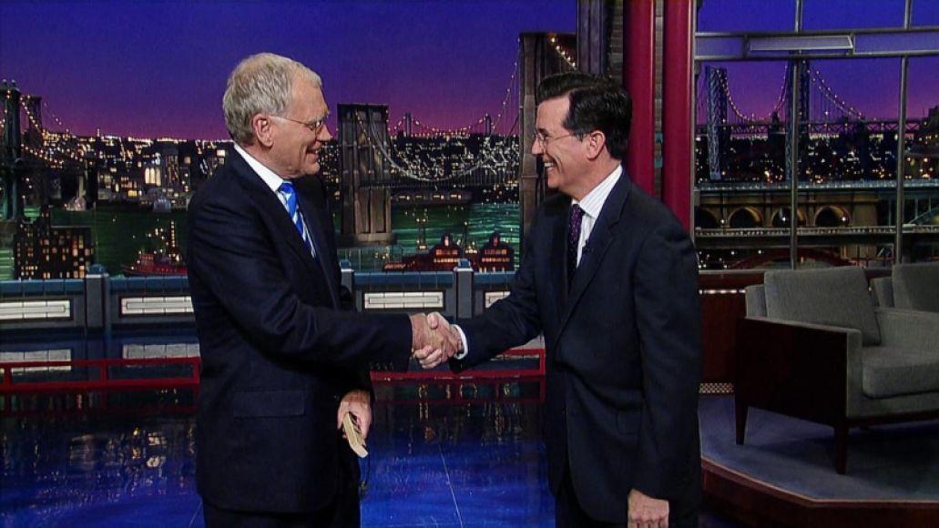 late show david letterman colbert Goodnight, David Letterman: A Celebration
