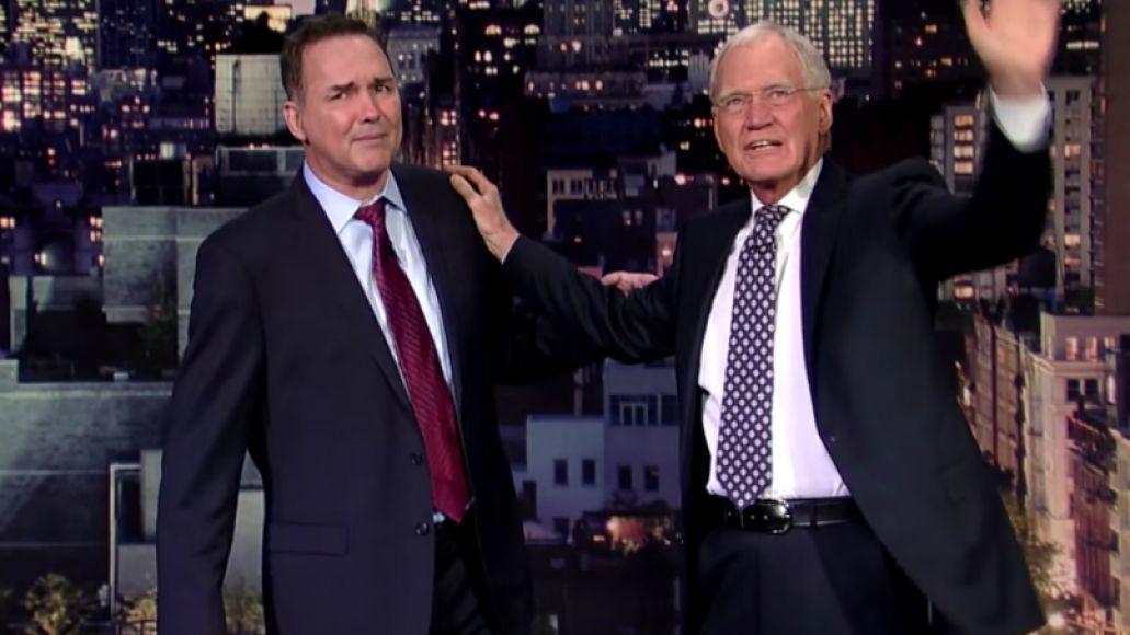letterman mcdonald Goodnight, David Letterman: A Celebration