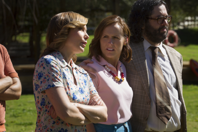 molly shannon judah friedlander wet hot american summer netflix Heres our first look at the Wet Hot American Summer prequel