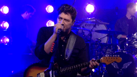 mumford and sons letterman