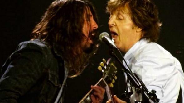 Dave Grohl Paul McCartney
