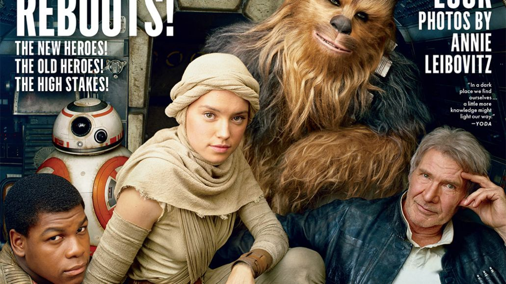 star wars vanity fair J.J. Abrams admits to cutting out a bunch of old Star Wars references from new film