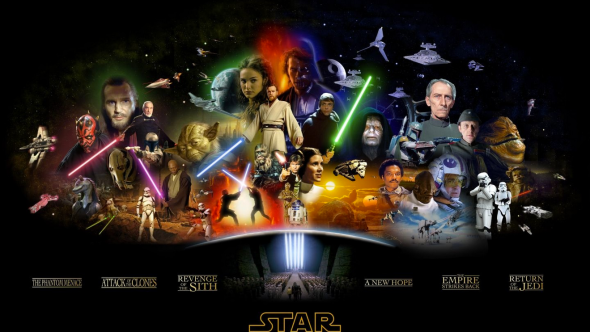 Star Wars, Collage, Topher Grace Trailer