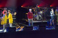 David Byrne, St Vincent, Lucius, Les Eclipses // Photo by Ben Kaye