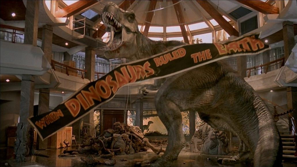 jurassic park 3d t rex The 100 Greatest Summer Blockbuster Movies of All Time